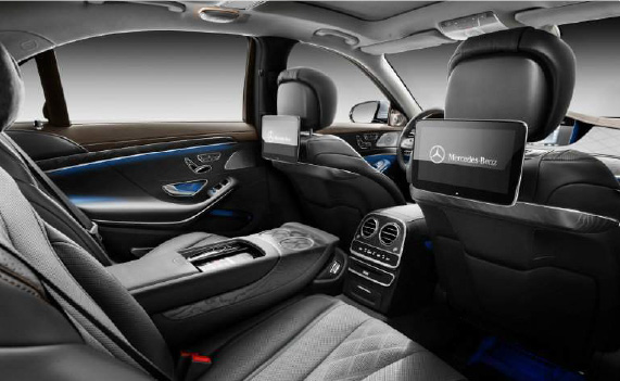 United Limousines AG - S Class Interior