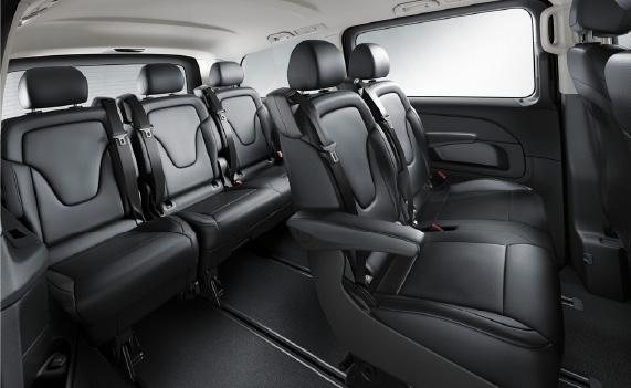 United Limousines AG - V Class Interior